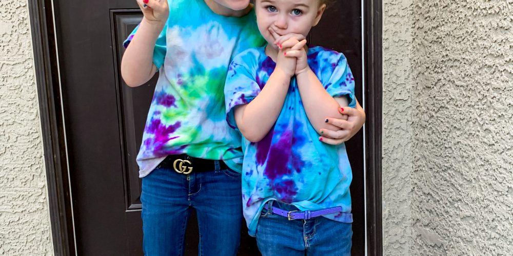 Kid friendly tie-dye guide