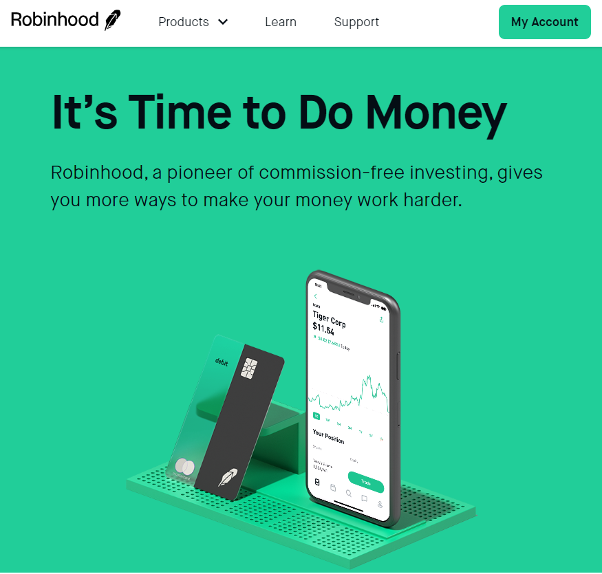 stocks with robinhood