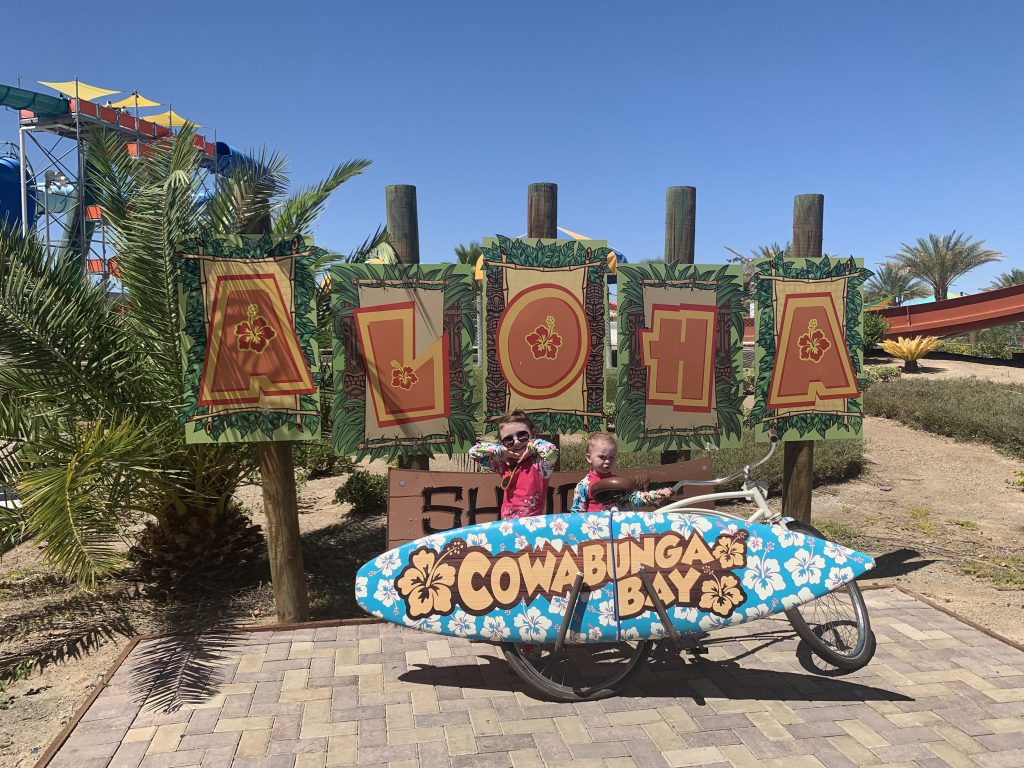 cowabunga bay - pogo pass attraction