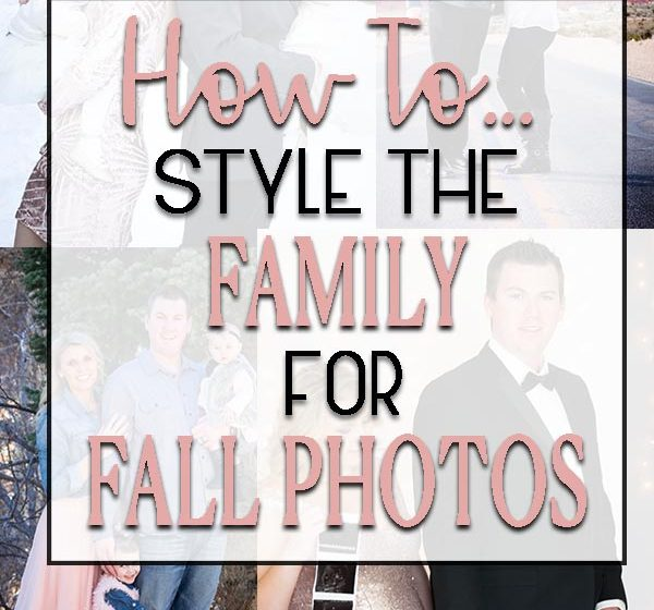 How to style your family for fall photos