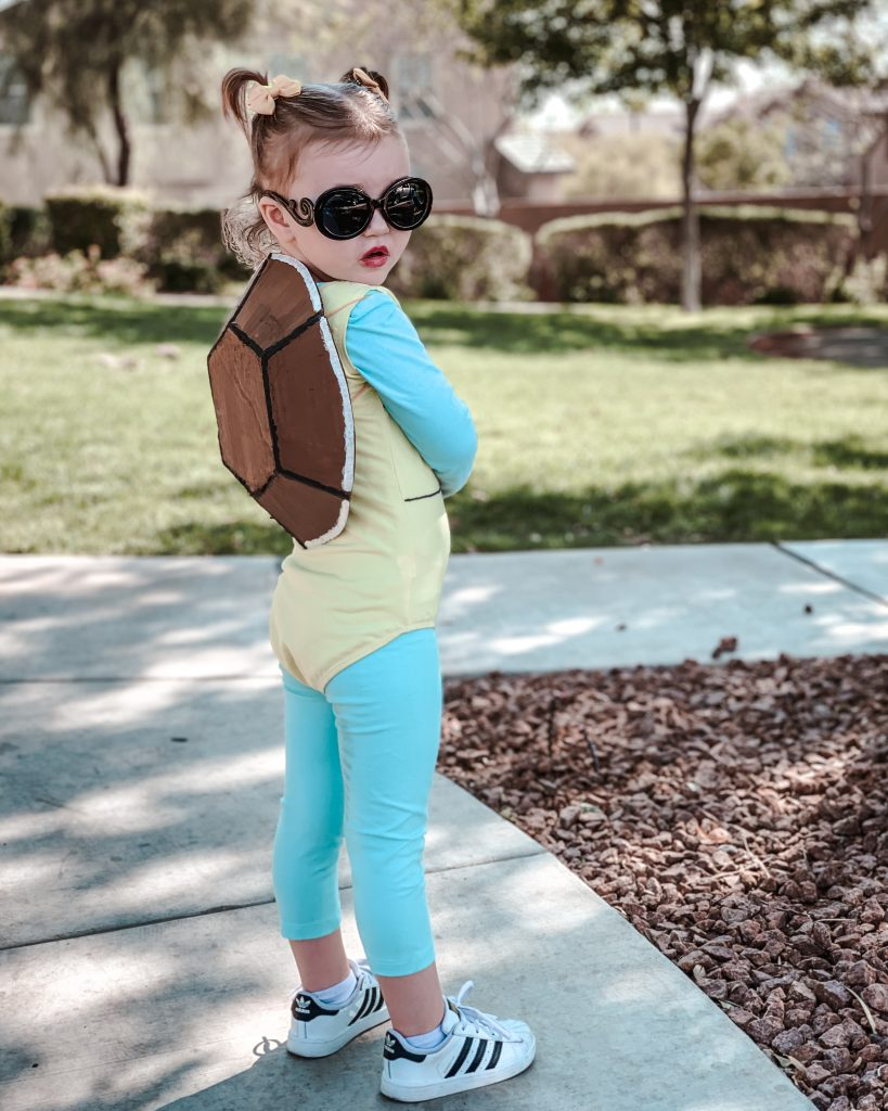Squirtle costume DIY