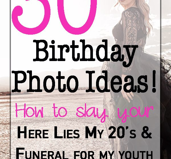 "How to: Slay your ""funeral for my youth"" photoshoot"