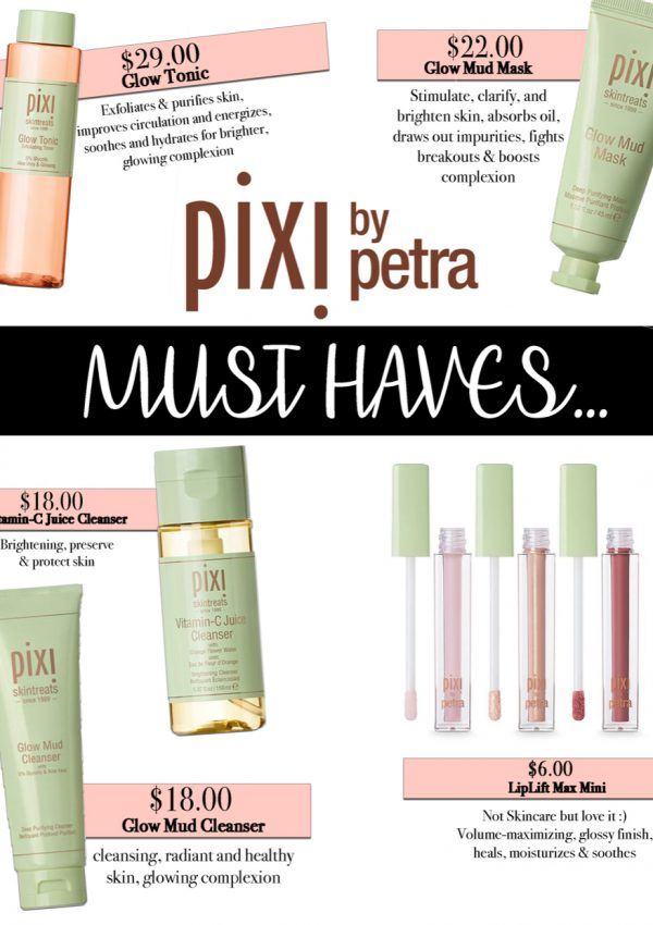 Pixi Beauty – Must Haves