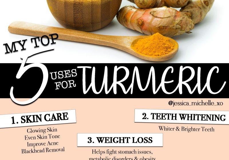 5 uses for turmeric