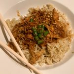 Honey Garlic Crockpot Chicken, 7 ingredients, gluten free option